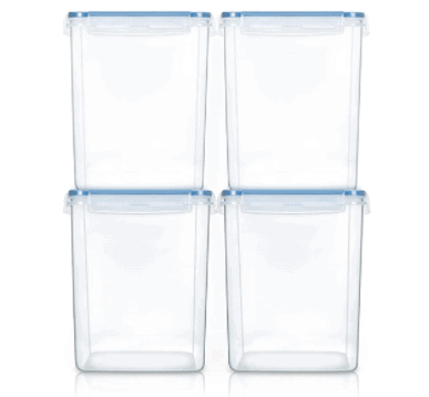Purchase larger containers